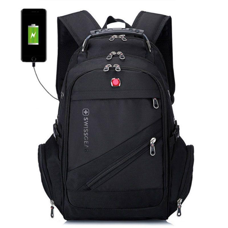 Swiss Multifunctional Backpack Travel Bags Hiking Camping Backpacks Laptop  Bag Schoolbag Sport Gym Outdoor Duffel Bag Swiss Backpack Camping Backpacks  ... 13805f4982