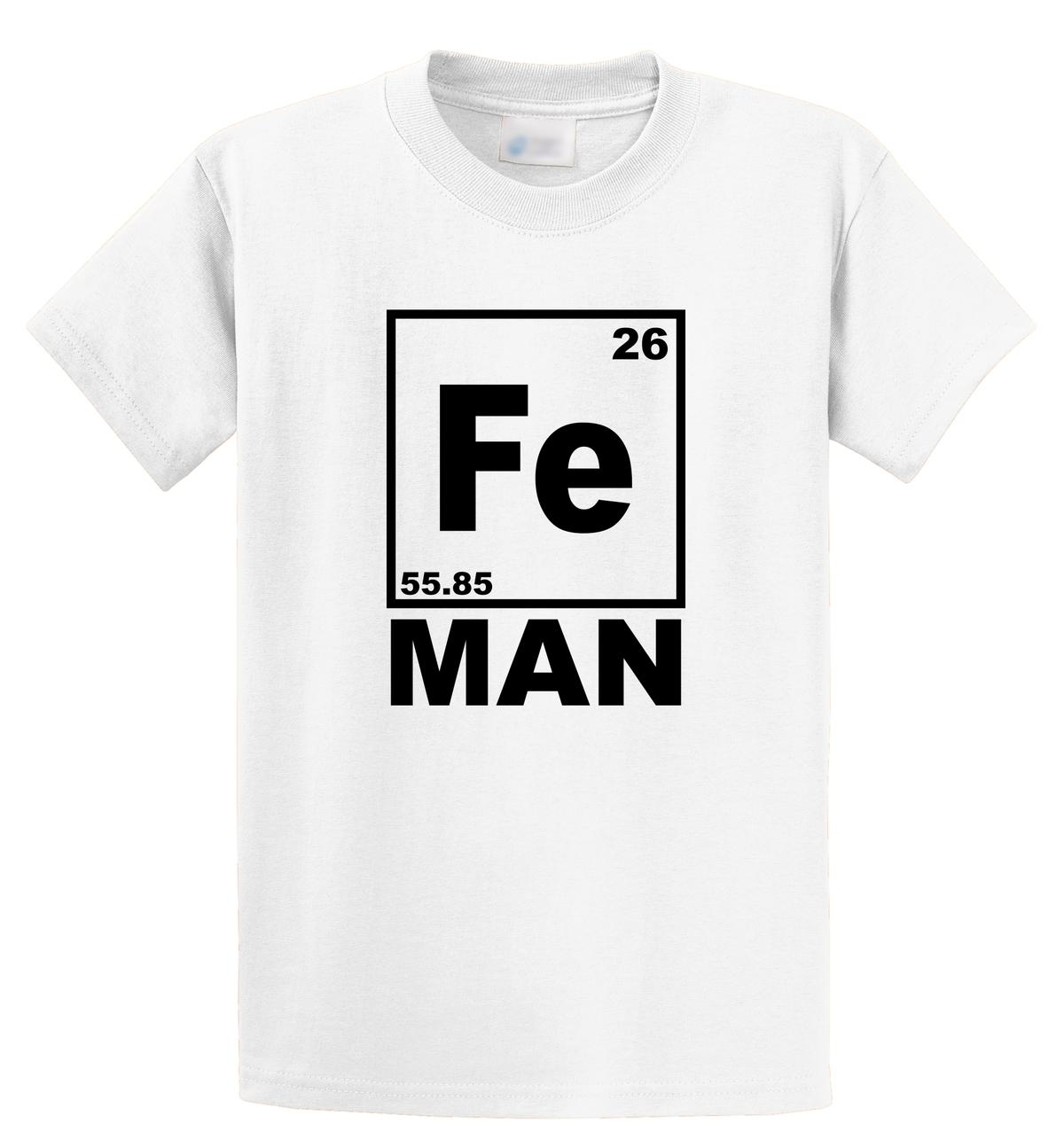 6403db65 Casual T Shirt Male Pattern Short O Neck Christmas Mens Fe Man Funny Iron  Chemistry Periodic Table Geek Nerd Shirt T Shirts Cool Designs Awesome T  Shirts ...