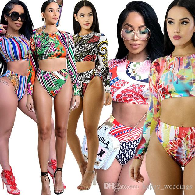 973de791a4b Swimsuit Beach Womens Outfit Sets Tracksuits 2018 Casual Full Women ...