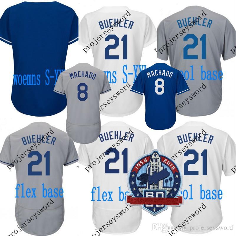 2019  8 Manny Machado Jersey 60th Patch Mens Womens Kids Los Angeles 10 Justin  Turner 21 Walker Buehler 35 Cody Bellinger Baseball Jerseys From ... 5cd360d67b7