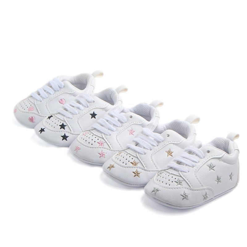 New Baby Infant Anti-slip Leather First Walker Soft Newborn Sneakers ... 8ab0ab7ce