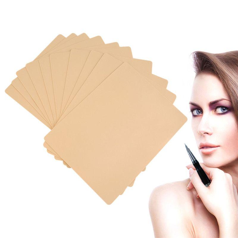 Makeup Tattoo Practice Skin 20X15cm Blank Plain for Tattoo Needle Machine Supply Kit Permanent Makeup Tools Permanent Makeup Supply