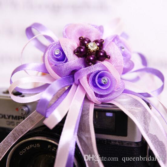 2019 nouvelle arrivée de mariée poignet fleurs style européen simulation main accessoires vente chaude demoiselle d'honneur de mariage fleur
