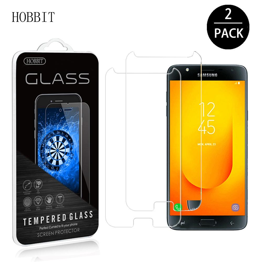 For Samsung Galaxy J7 Prime 2 2018 G611 Duo 03mm 25d Clear Tempered Glass Screen Protector Protective Lcd Film