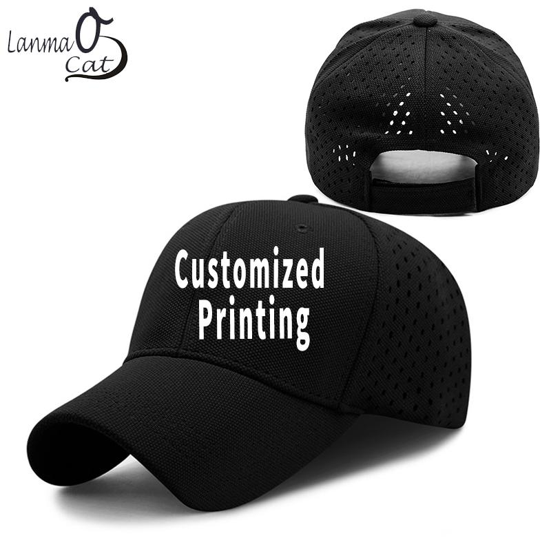 Lanmaocat Breathable Mesh Cap Running Hat Custom Design Mesh Cat Dad ... c68bde9422f1