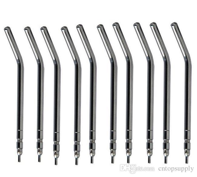 L'alliage de métal dentaire à trois voies de bec de seringue de l'eau de l'air pointe le tube de seringue