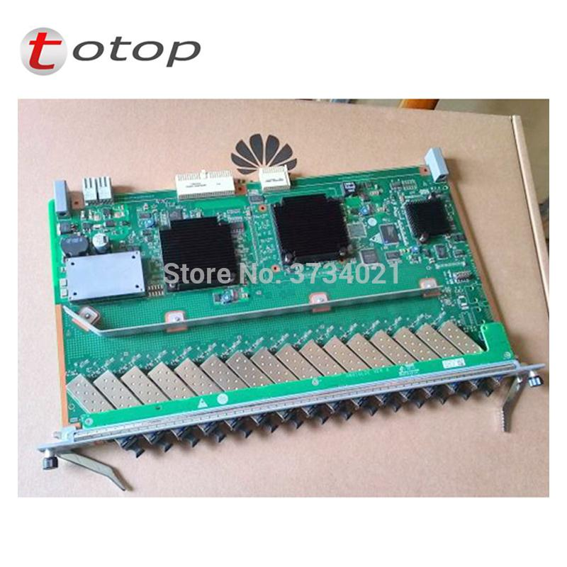 Huawei 16 ports GPON GPFD board with 16 C modules for MA5680T or MA5683T OLT