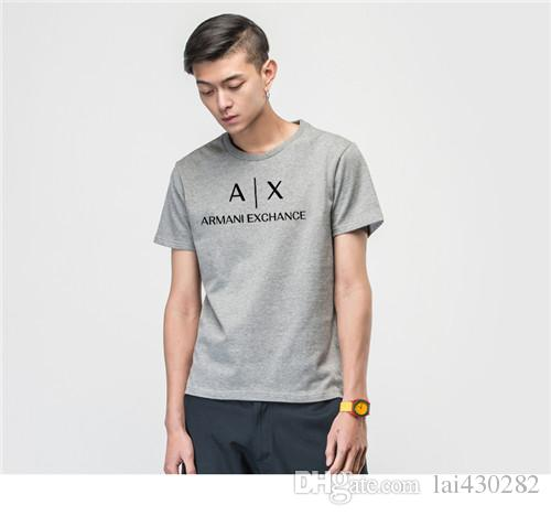 09336b3d5017 New Designer AJ T Shirts For Men Print Letter T Shirt Mens Clothing ...