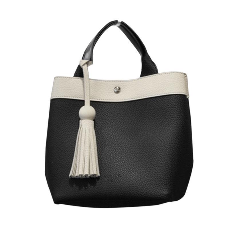 ebd06d920d Laamei Sweet Handbag Women Panelled Fashion Female Top Handle Bag Simple Lady  Bag Day Clutch Casual Totes PU Bolsos Mujer Personalized Bags Fashion  Handbags ...