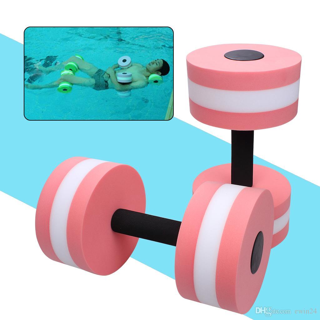 bb2c13a00d5 2019 EVA Water Sport Aquatic Dumbells Barbell Set Of For Water Aerobics  Yoga Exercise Training Fitness Equipment From Ewin24, $14.08 | DHgate.Com