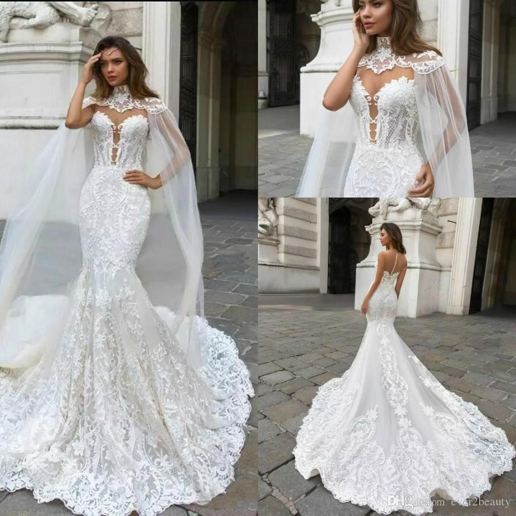 New Robe De Marriage 2018 Sweetheart Mermaid Wedding Dresses Keyhole ...