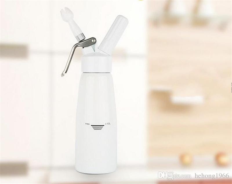 Macchina la decorazione in alluminio multifunzionale in schiuma di schiuma 500ml Macchina latte fresco Forte resistenza alla pressione Materiale PP di alta qualità 60sj Y