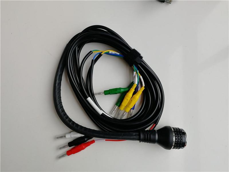 MB Estrela C5 SD Connect C5 Ferramenta de diagnóstico de caminhão de carro com WiFi Função sem fio com V03.2021 SSD Super Multi-Langueses em D630 Laptop