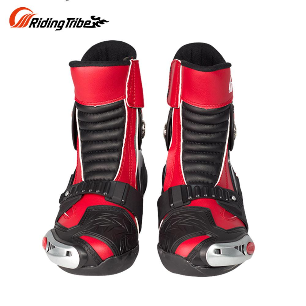 54186bfb80 Riding Tribe SPEED BIKERS Moto Racing Dirt Bike Off-Road Riding Sports Protector  Shoes Motorcycle Motocross Racing Boots Red Bike Gios Bike Clothes Bike ...