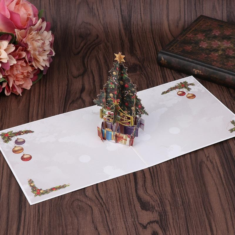 Hot selling handmade 3d pop up greeting cards merry christmas tree hot selling handmade 3d pop up greeting cards merry christmas tree xmas thanks holiday gift aug29 online greetings online greetings card from caley m4hsunfo