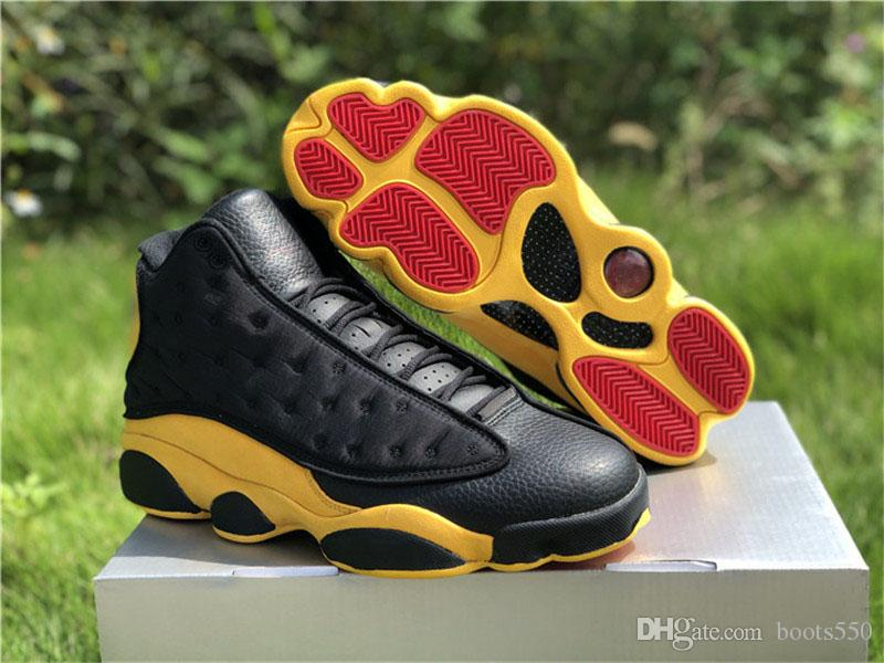 ba3ca1382ea 2018 13 Melo Class Of 2002 Carmelo Anthony Black Red University Gold 13S  Basketball Shoes Man Authentic Real Carbon Fiber Sneakers With Box Athletic  Shoes ...