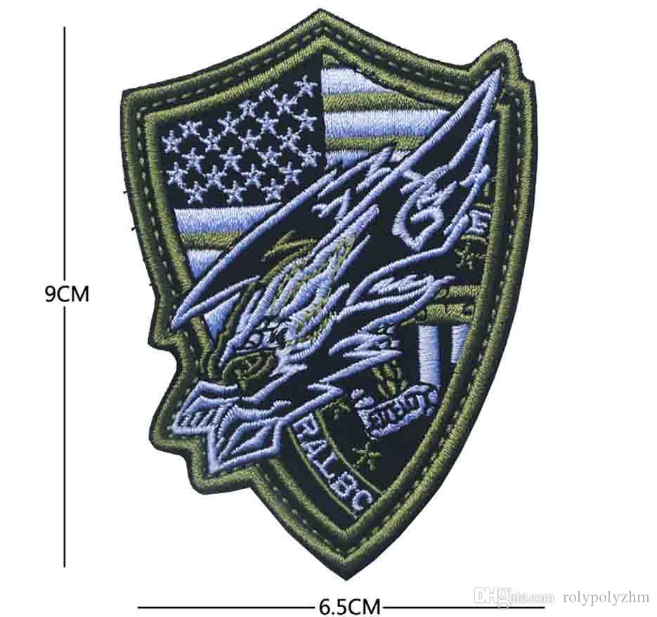 Brand New Assault Hawk High Quality Delicate 3D Embroidery Badge ... 7064f1532bc
