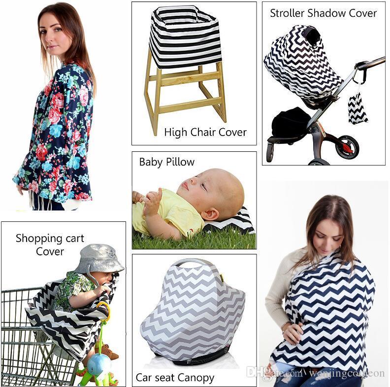Bebek INS Arabası Kapak Uyku Puset Vaka Araba Koltuğu Gölgelik Alışveriş Sepeti Kapak Pram Seyahat Çantası Kapak Emzirme Hemşirelik Kapakları