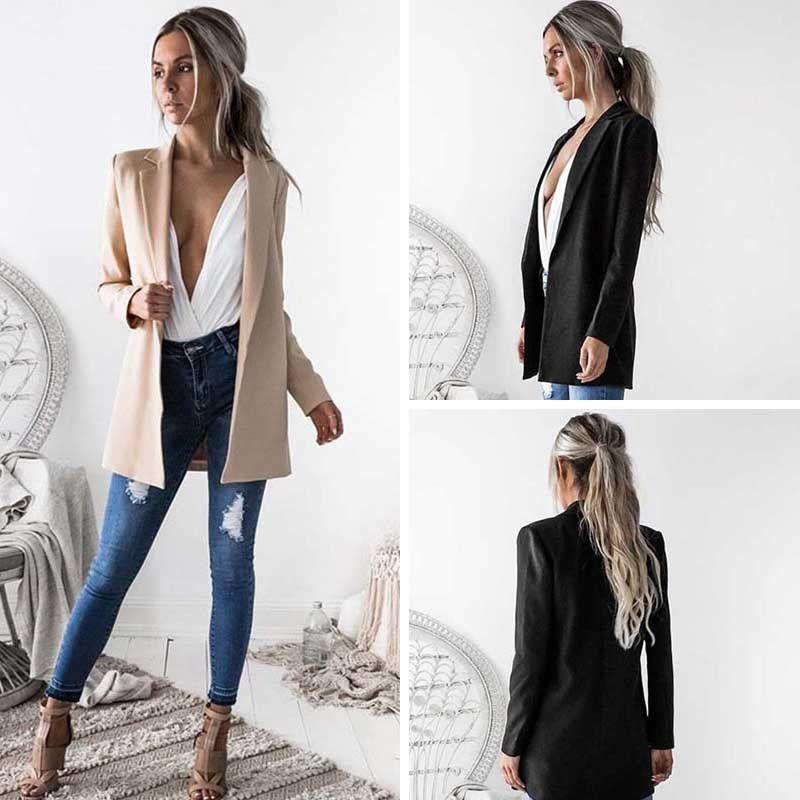 2019 Meihuida 2018 New Style Hot Fashion Women Ladies Suit Coat
