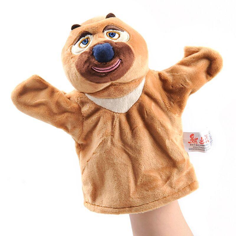 RYRY niedliche Plüschkinder Spielzeug Babypuppen tragen Aniamls Handpuppe für Kinder 1-9 Jahre Tierfiguren Spielzeug für Jungen Mädchen