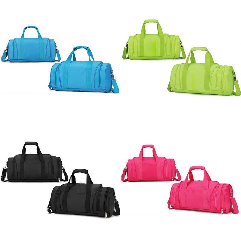 94cf800aee06 Stylish Outdoor Waterproof Nylon Sports Gym Bags Men Women Girls ...