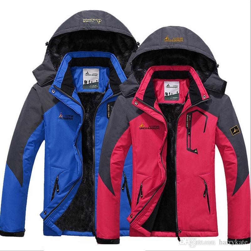 3944a0ee98 2018 New Ski Suit DESCENTE Jacket Windproof Waterproof Coats Couple Ski  Suit Winter Outdoor Outerwear Tide Fashion Mountaineering Suit Warm Black  Leather ...