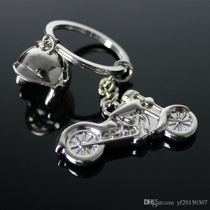 Motorcycle Metal Key Rings Party Gift Favors Car Key Chain For Men