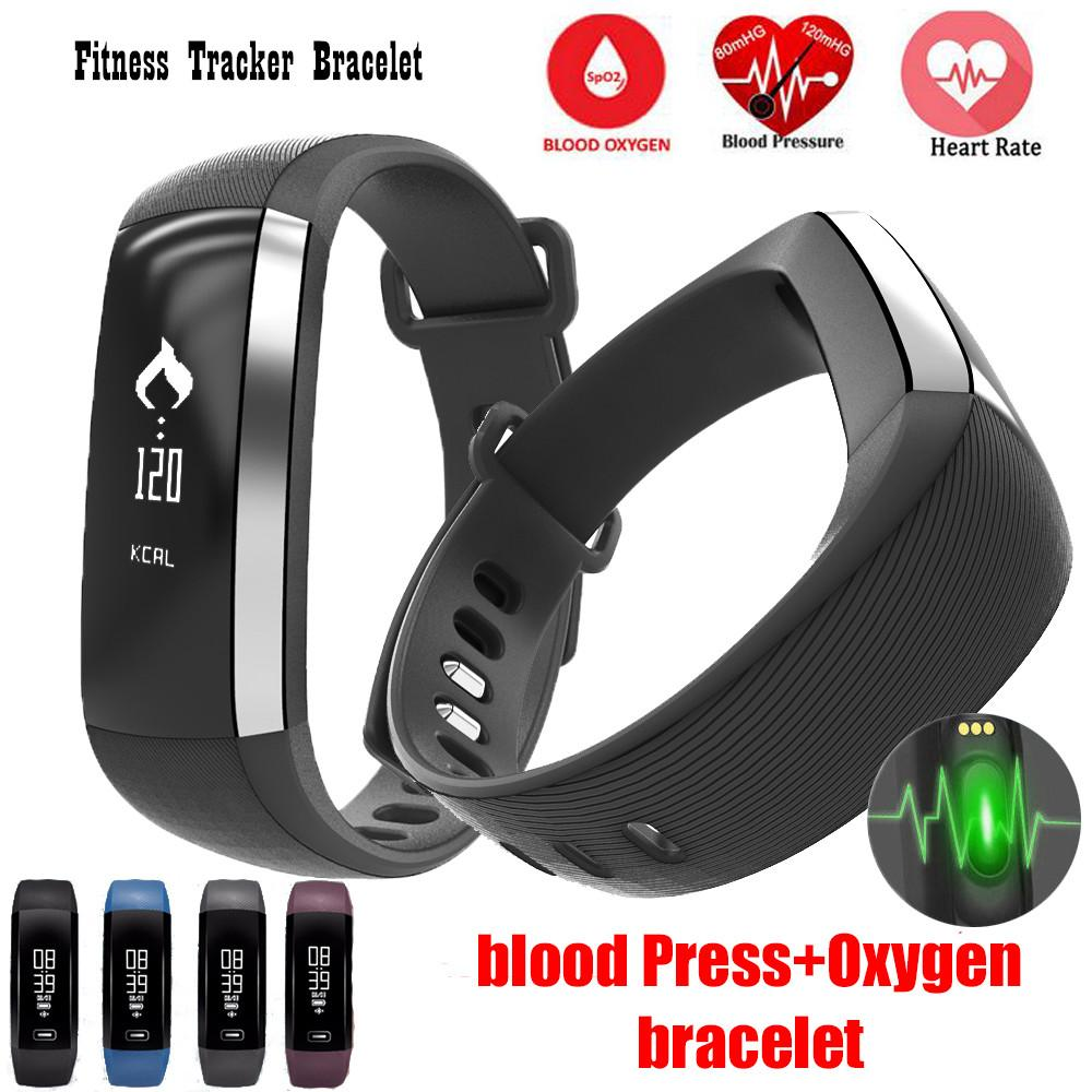 Fitness Tracker Bracelet Smart Band Blood Pressure Wristband Watch Pulse Meter Monitor Cardiaco M2 Smartband for iOS Android