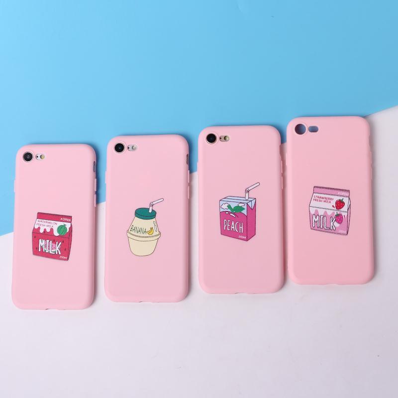 coque iphone 8 milk