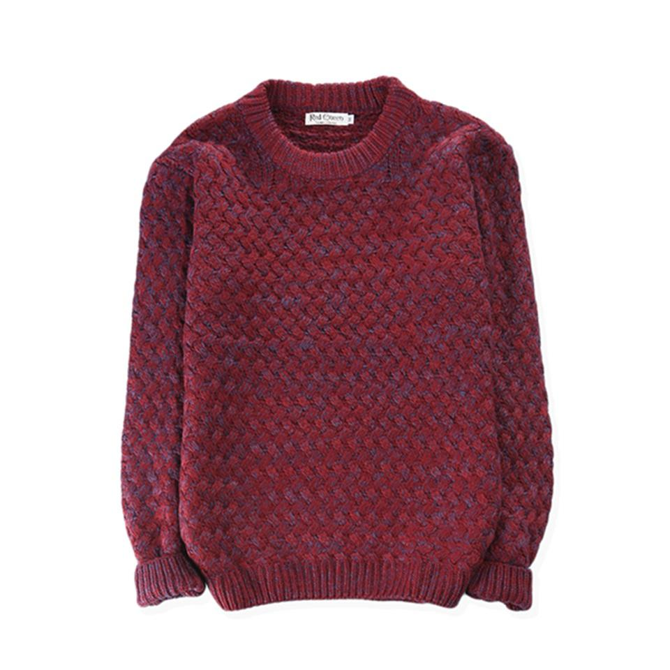 d353313691a77 2019 Mens Autumn Multi Ribbed Cable Crew Neck Long Sleeve Knit Pullover  Fisherman S Sweater