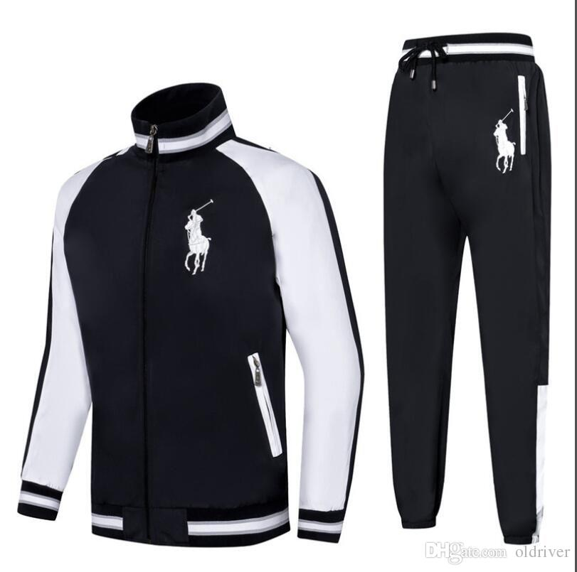 872429fb03b2 2019 Men S New Sportswear Jacket And Pants Spring And Autumn Jogging Sports  Suit Designer Tracksuit For Me From Oldriver