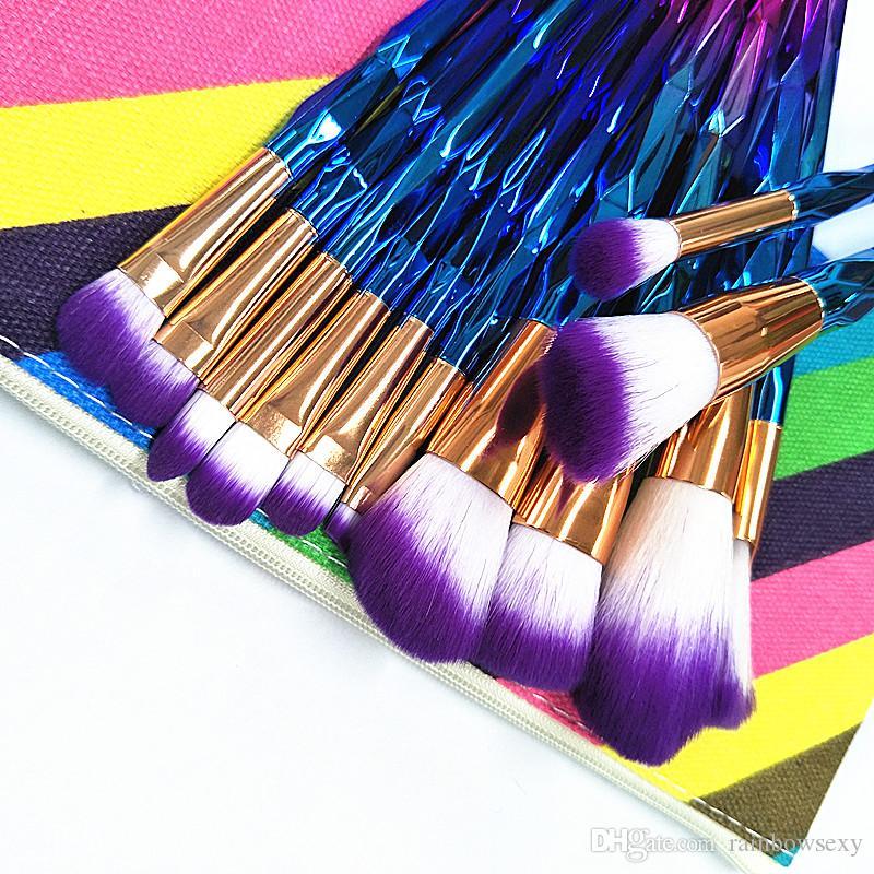 Fabrika Fiyat Profesyonel 12 adet Makyaj fırça Kozmetik Yüz Makyaj Fırça Araçları yüz ve gözler Makyaj Fırçalar Seti Kiti Perakende Kutusu Ile