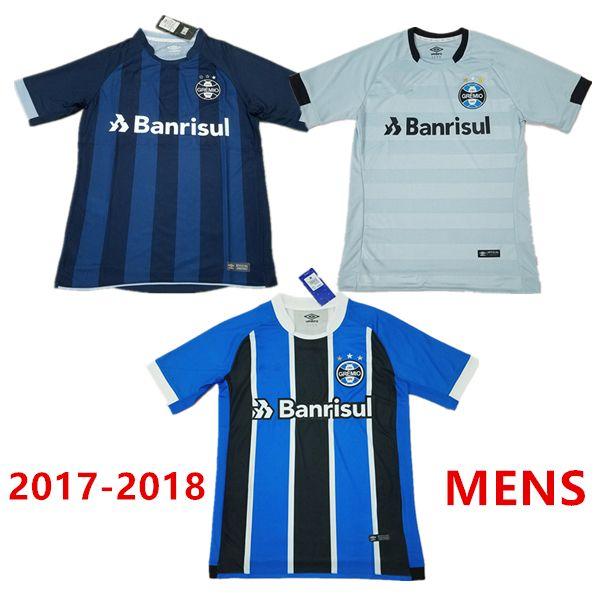 2017 2018 Best Quality Gremio Home Away Third Soccer Jersey Brazil 17 18  Gremio MILLER LUAN DOUGLAS DIEGO Football Shirt Camiseta De Fútbol Gremio  Gremio ... ec22f8e663981