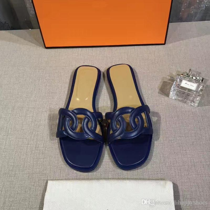 ba2829bbdcfb New Pig Nose Women Slippers Patent Leather Open Toe Cuts Out Summer ...