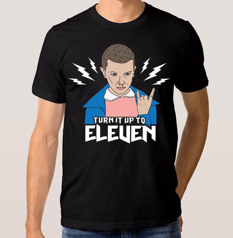 T-shirt Eleven, tee-shirt Stranger Things,