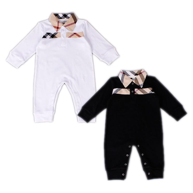 b88915daac1a Baby Boys Girls Rompers Newborn Infant Striped Sports Suits 2018 New ...