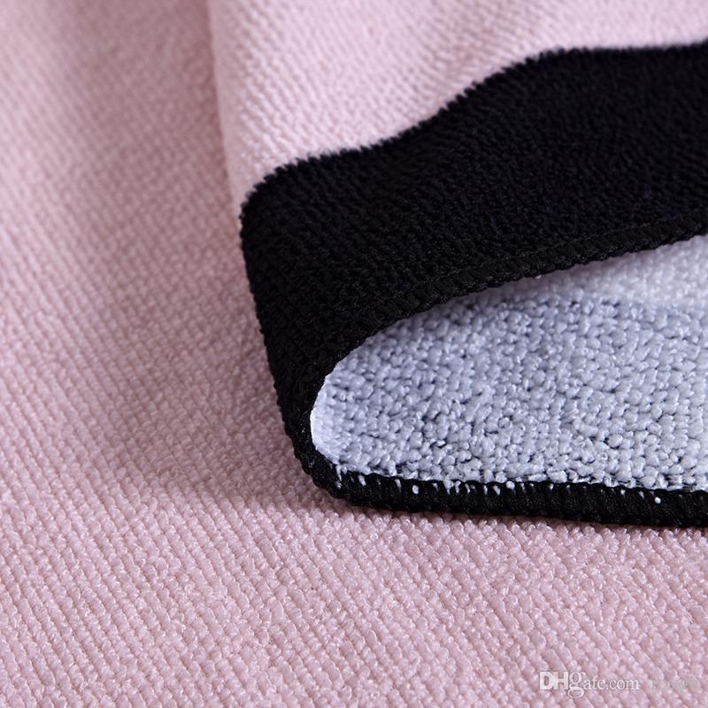 Heiße Mode europäischen und amerikanischen Strandtuch Mode Dame Druck ultrafeinen Faser Fitness Joggen Strandtuch