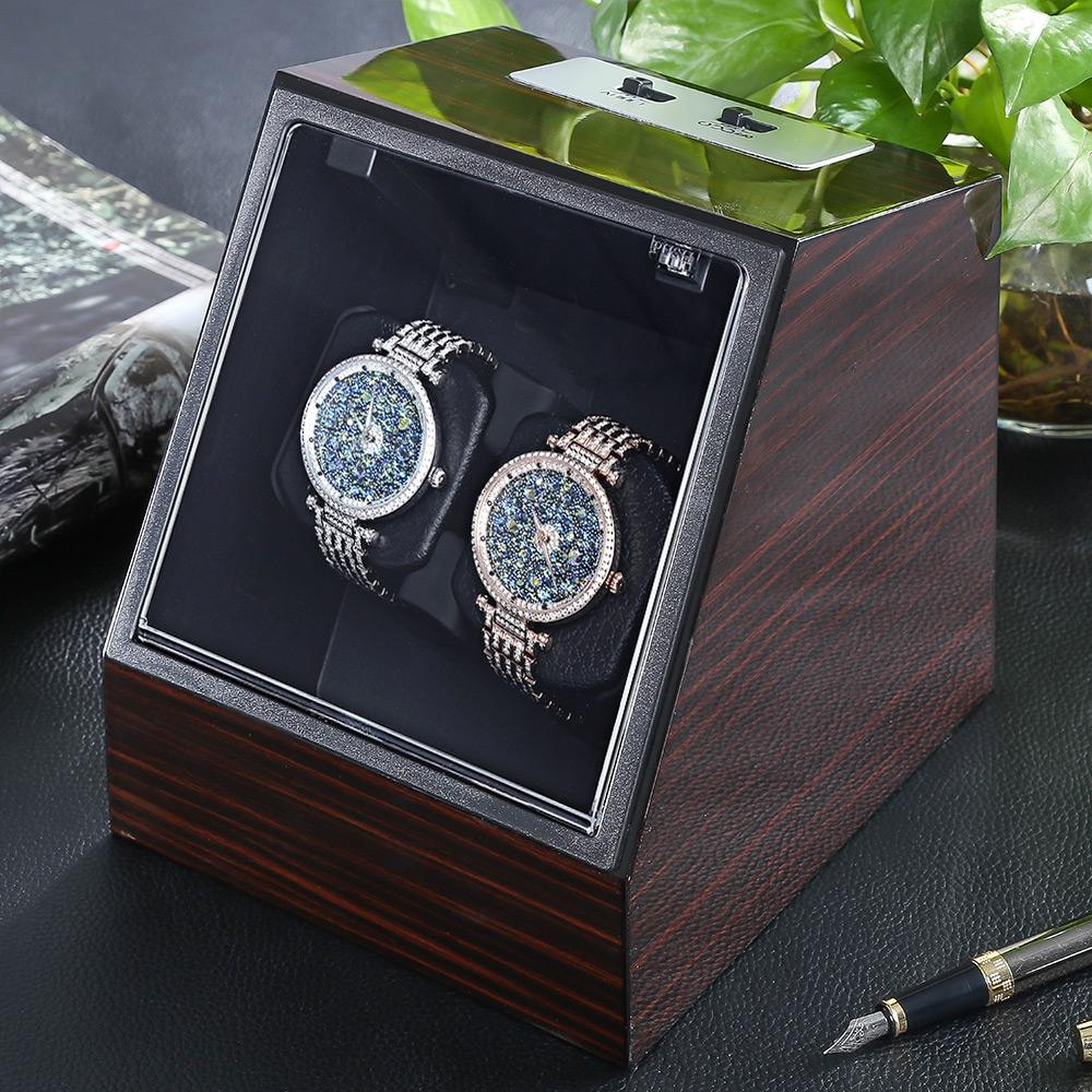 Automatic Watch Winder Watch Display Storage Organizer Watches Case Auto  Silent Winder Transparent Cover Wristwatch Boxes Best Watch Travel Case  Watch Cases ... cd3fabc966