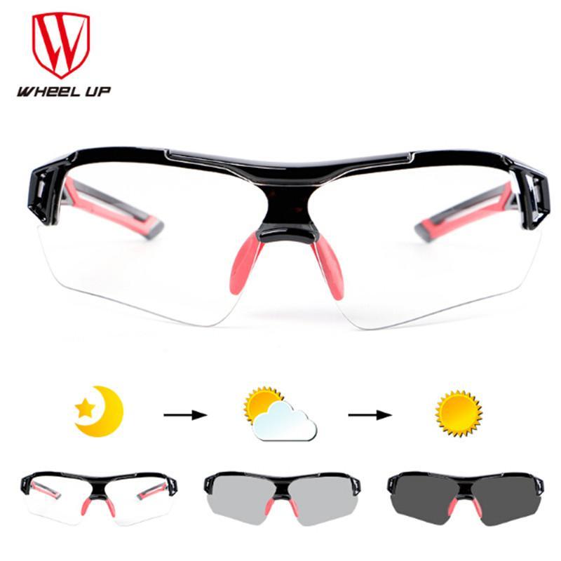 23f7498f2a3 Photochromic Cycling Sunglasses Jogging Running Men Riding Sport ...