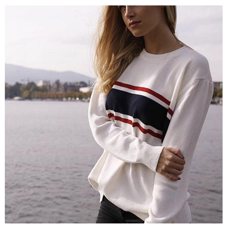 Truien Voor Dames.2019 Sweaters Fashion 2018 Women Harajuku Pullover Winter Streetwear