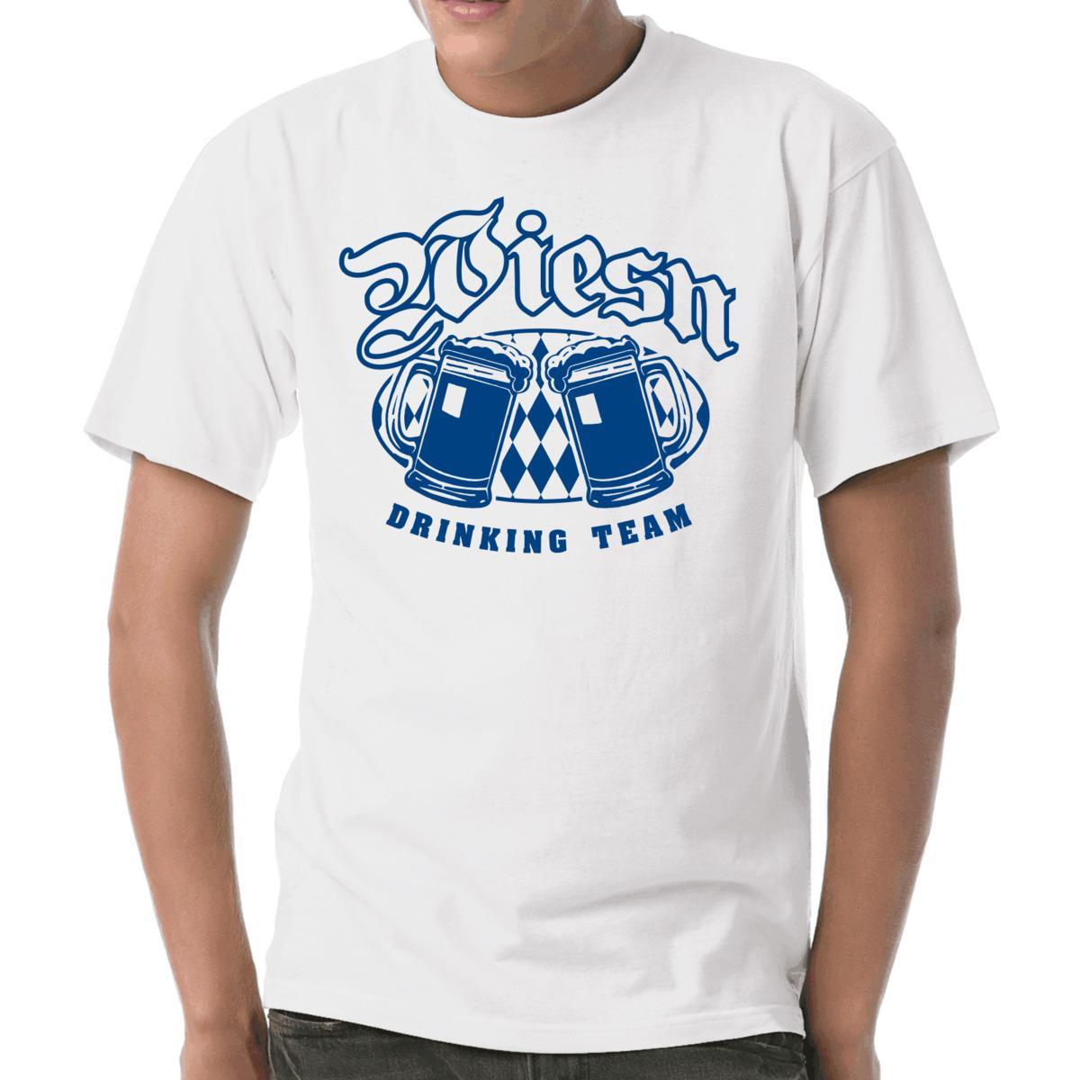 Wiesn Drinking Team Oktoberwest Spruche Bayern Munchen S 3xl T Shirt