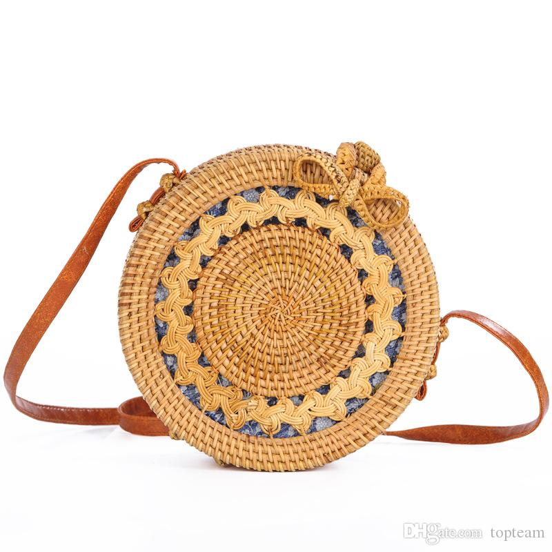 c79513d5c 4style Summer Shoulder Straw Bags Rattan Bag Hollow Sun Flower Travel Beach  Bag Wholesale Straw Bag Hand Woven Wholesale Purses Discount Designer  Handbags ...