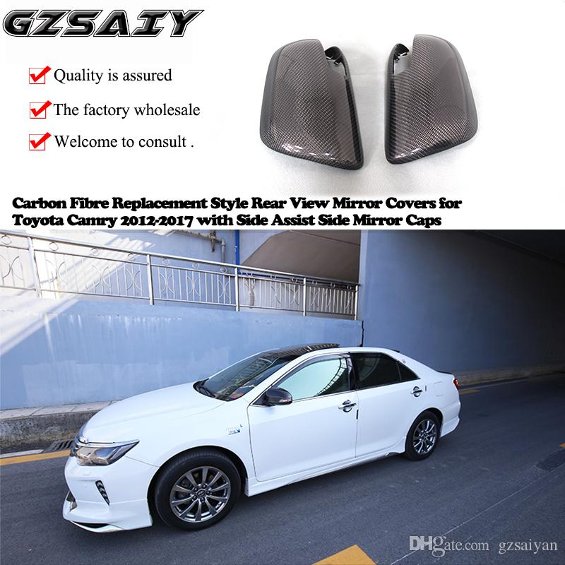 2019 Carbon Fibre Replacement Style Rear View Mirror Covers For