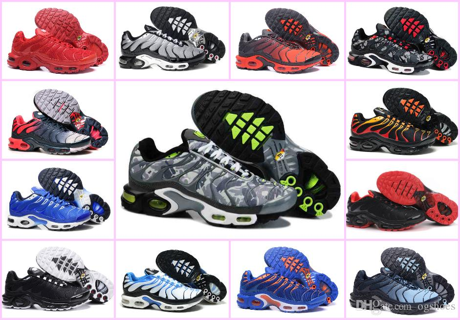 1e9c37637920 New Arrivals 2018 AIR TN Maxes Plus Running Shoes Breathable MESH Noir Tn  Requin Chaussures Jogging Sneakers Basketball Tns 270 Zapatillaes Baseball  Shoes ...