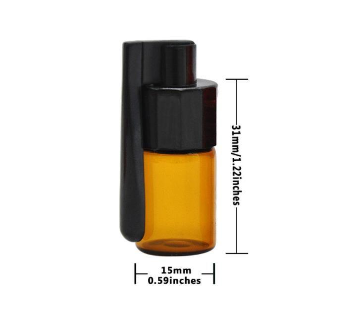 Plastik 36mm plastik boru kornet enfiye şişe