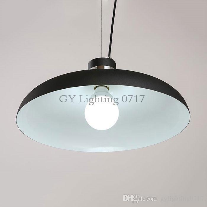 Moderno industriale D40cm lampade a sospensione Nordic art designer hanglamp tavolo da pranzo lampada da ufficio ristorante grande pendente lampe loft