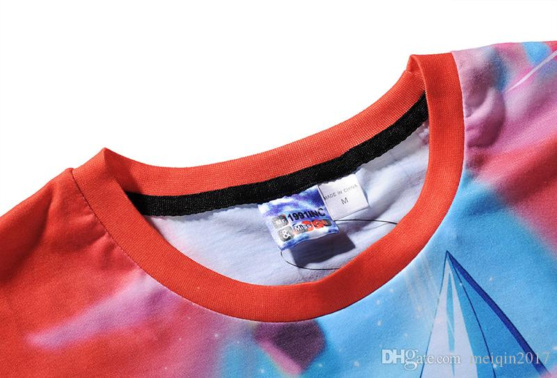 Estate 3D Stampato T Shirt da Uomo Beach Tshirt Dragon Ball Cartoon 3d T-Shirt M-3XL plus size supera ites BL-414