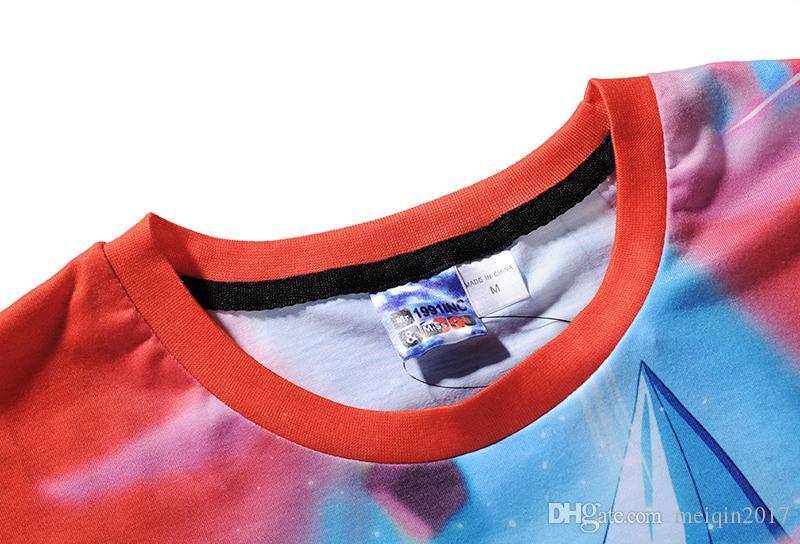 Verano 3D Impreso Camiseta de los hombres Camiseta de la playa Dragon Ball Dibujos animados camiseta 3d M-3XL tallas grandes tops tees BL-414