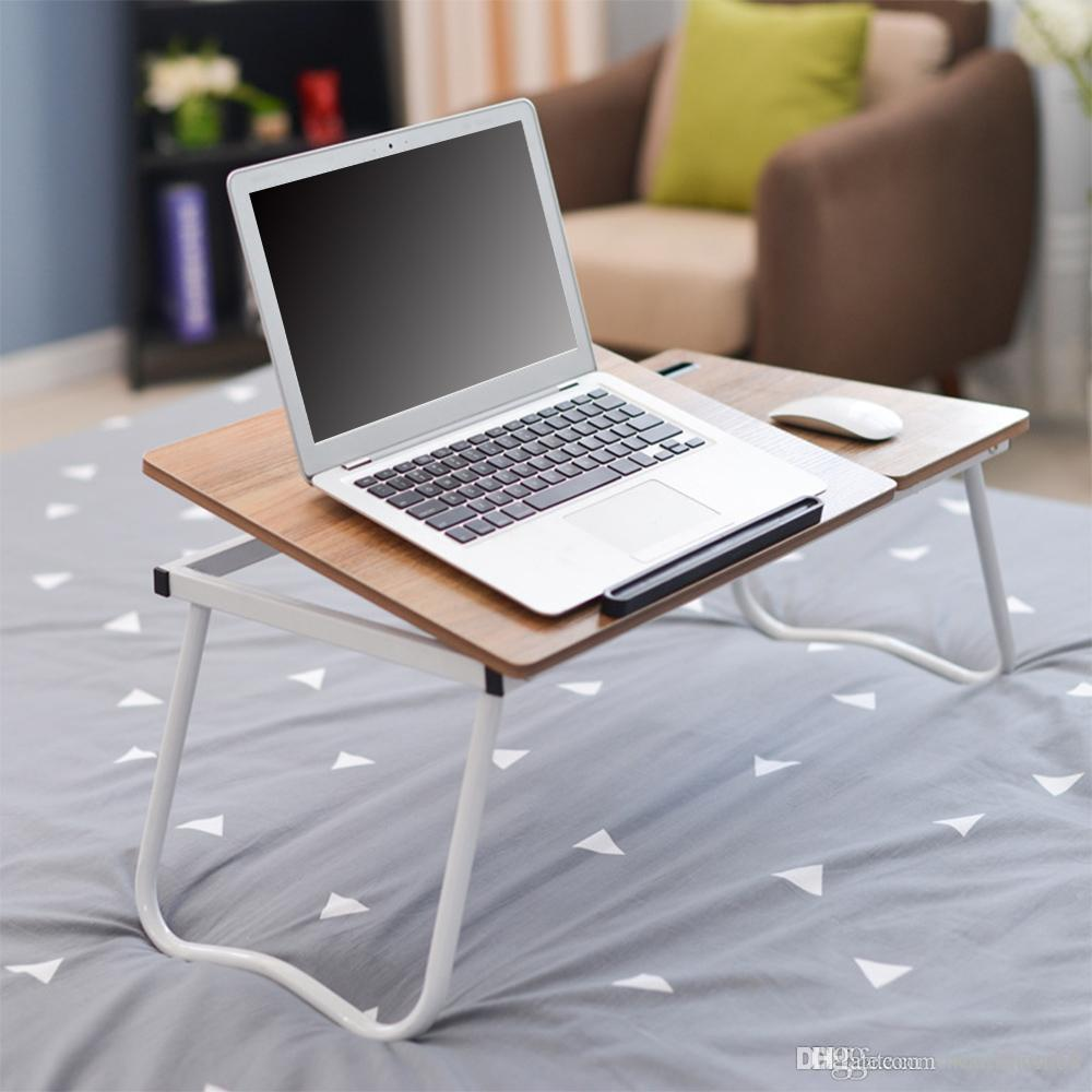 2019 Folding Notebook Table Adjustable Laptop Computer Desk Six Adjustable  Levels Desktop Mouse Board Design And Mobile Phone Slot NB From  Sweethouse88, ...