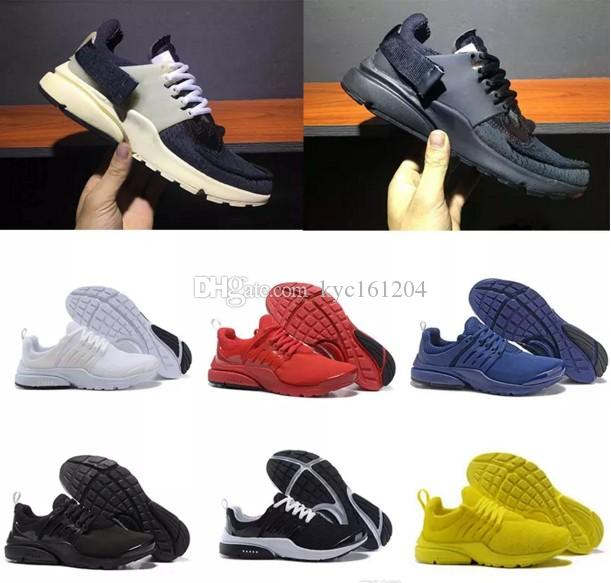 looking for cheap price 2018 Shoes Presto BR QS Womens Mens Triple white black Breathe Greedy Oreo Yellow Red blue Sneakers sport 36-44 free shipping fashion Style outlet find great buy authentic online original cheap price NOYbx